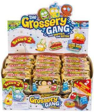 Grossery Gang Barra De Chocolate Con 2 Grossery Y Contenedor