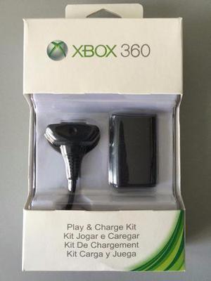 Kit Carga Y Juega Para Xbox 360 Bateria  Envío Gratis