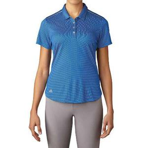 Playera Tipo Polo Para Golf adidas Azul Para Mujer