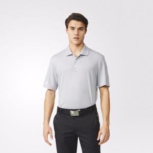 Playera Tipo Polo Para Golf adidas Gris Para Hombre