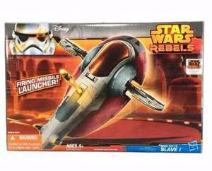 Star Wars Bobafett Slave Nave Rebels Lanza Dardo Hasbro