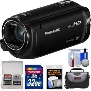 Videocámara Cámara Panasonic Hc-w580 Doble Wi-fi De Vídeo