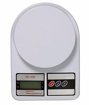 Bascula Digital 10kg/1g Alta Precisión Sf400 Envío Gratis