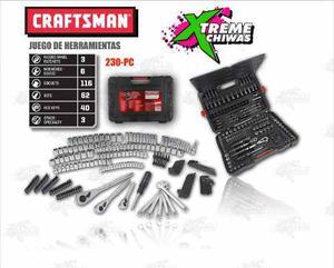 Caja De Herramientas Craftsman 230 Pz Set Xtreme C