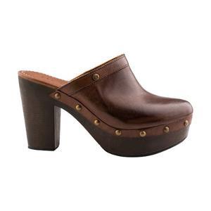 Efe Zapatos Suecos Tacon Estoperoles Piel Vestir