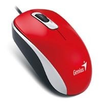 Mouse Genius Óptico Dx-110 Alámbrico Usb dpi Rojo
