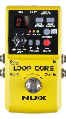 Pedal De Efectos Loop Core Nux Confirmar Existencia *