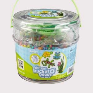 Perler Beads:: Cubeta Rainforest  Cuentas Midi (5mm)