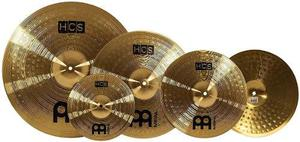 Set De 5 Platillos Hi Hats Ride Crash, Meinl Hcs