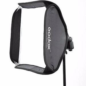 Softbox Godox 60x60 Para Speedlite Y Tripie 190cms