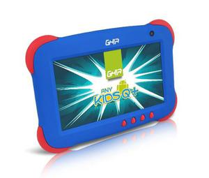 Tablet Ghia Any Kids Niño 8 Gb Cámara Android Tableta Azul
