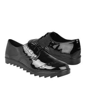 Zapatos Stylo 981 Charol Negro