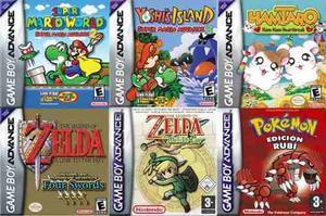 Game Boy Advance Colección De Juegos Para Pc