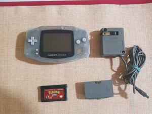 Gameboy Advance Con Cargador Original Y Pokemon Rubi.