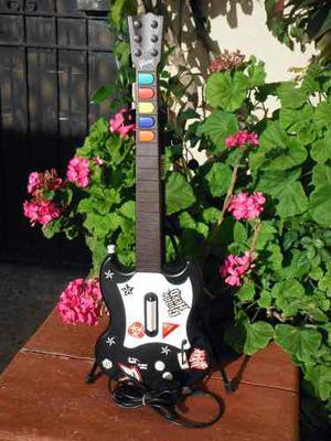 Guitarra Guitar Hero 1 Gibson Negra Para Ps2 (10)