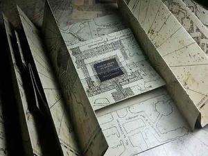 Mapa Merodeador Con Pliegues Harry Potter