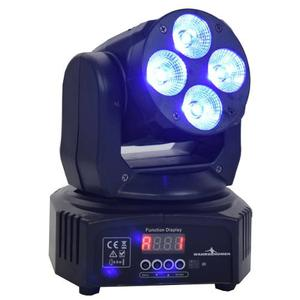 Cabeza Movil Robotica Led Wash Rgbw Luz Dj Disco Dmx, Luces
