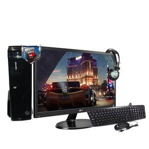 Equipo Amd A Quad Core 4gb 500gb Monitor 18 Teclado