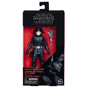 Figura Death Star Trooper 6 Pulgadas The Black Series Star W