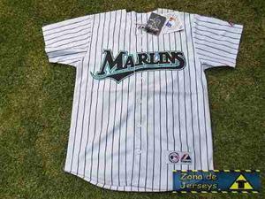 Jersey Beisbol Marlins Miami Majestic Jeremy Hermida 27