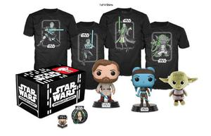 Kit Accesorios Coleccionables Box Star Wars Jedi Large Funko