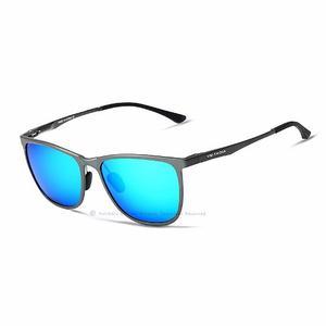 Lentes De Sol Veithdia V Azul Originales Polarizado
