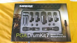 Microfonos Shure Set Pga Drumkit7 Para Bateria Acustica Msi