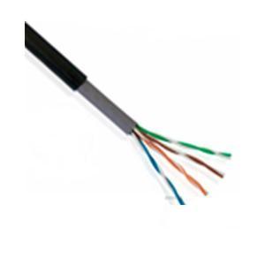 Saxxon Cable Utp 305m Cat5e 100% Cobre Exterior Color Negro