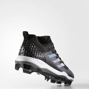 Spikes Beisbol Softbol adidas Power  Negro Tqt 27 Mx