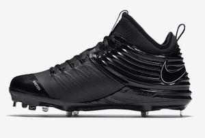 Spikes Nike Lunar Trout2 Baseball Negro 9mx