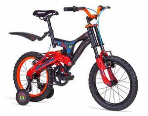 Bicicleta Infantil Hunter Rodada 16 Dh Casco Gratis