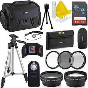 Professional 52mm Accessory Bundle Kit For Nikon D D