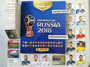 Album Panini Mundial Rusia  Completo Messi Ronaldo
