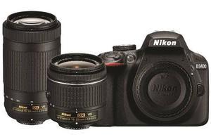 Cámara Nikon D Kit Dos Lentes  Vr, mm Vr