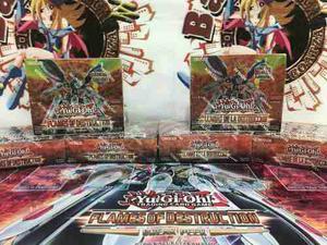 Yugioh Flames Of Destruction Booster Box (español O Ingles)
