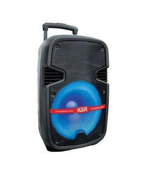 Bafle Bocina Amplificado De 12 Ksr Recargable Msa-