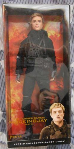 Barbie Peeta Juegos Del Hambre Sinjao 2 Hunger Games