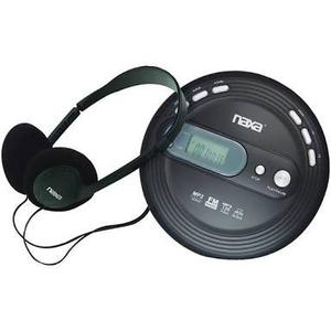 Discman Naxa Npc-330 Mp3/cd Player Fm Radio + Pilas Aa