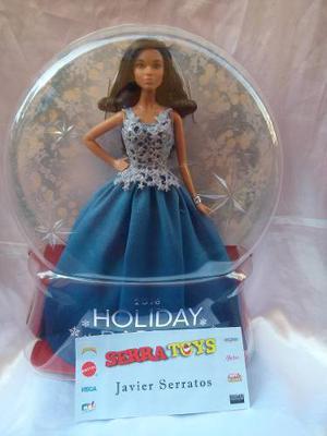 Muñeca Barbie Holiday  Felices Fiestas  Vestido