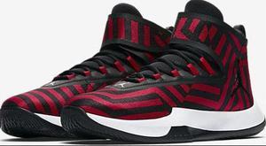 Tenis Jordan Fly Unlimited Nuevos Originales Rojo Con Negro