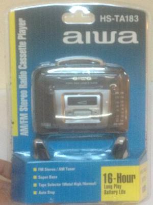 Walkman De Cassette Y Radio Aiwa