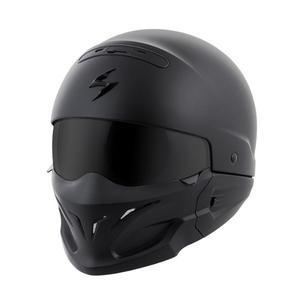 Casco Harley Davidson Scorpion Exo Covert Negro Mate Chopper