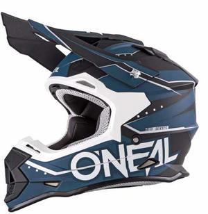 Casco Oneal 2 Series Slingshot Azul Blanco Talla S, M, Xxl