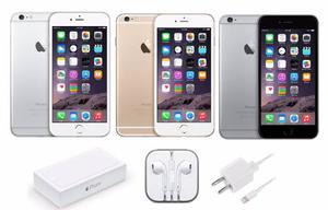 Iphone 6 Plus 16gb Libre Telcel At&t Movi Dorado Plata Gris
