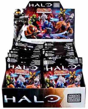 Megabloks Halo Sobre Foxtrot 1 Figura Arma Y Bloque Mattel