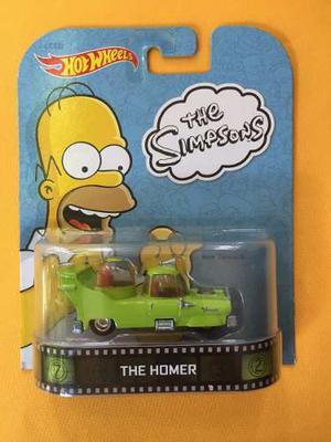 The Homero Simpson Car - Hot Wheels Retro Entertaiment