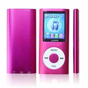 Lonve Rosa 16gb Mp4 / Mp3 Player 1.81 '' De La Pantalla Mp4