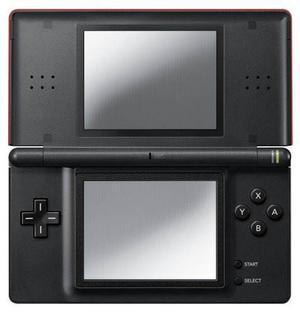 Nintendo Ds Lite Crimson / Negro Importación Japonesa