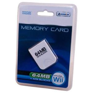 Wii / Gamecube 64 Mb De Tarjeta De Memoria ( Bloques)