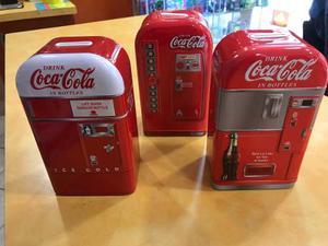 Alcancias De Coca Cola Juego De 3 Modelos